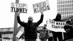 Kurdish Protest in Nashville